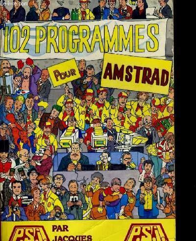 102 progr.amstrad cpc (Dunod Masson Ho)