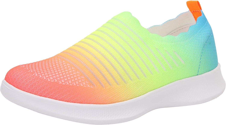 Johtae Womens Ladies gift Gradient Tennis Casua Tulsa Mall Running Shoes Walking