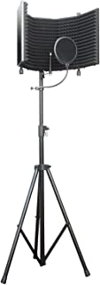 microphone isolation shield stand