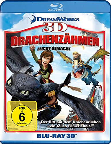 Drachenzähmen leicht gemacht [3D Blu-ray]