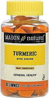 MASON NATURALS Turmeric Ginger, Gummies, 2.5 Pound