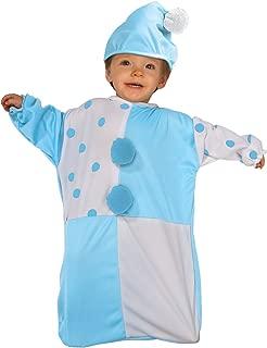 Rubie's Costume Tyke Or Treat Baby Bunting Costume Clown, Clown, 0-9 Months