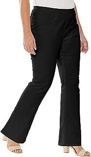 Women's Plus Size Bootcut Stretch Denim Jeggings