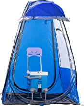 DalosDream Cover Sports Shelter Weather Tent Pop Up Pod Single Person Portable Tent Rainproof & Windproof Double Doors Sports Privacy Shower Tent for Camping, Biking, Toilet, Shower, Beach Changing