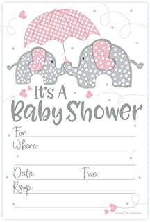 Best baby girl elephant invitations Reviews