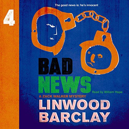 Bad News audiobook cover art