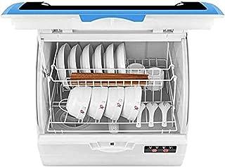 Lave-vaisselle pour 6 ensembles de couverts, 4 programmes, séchage, exigence d'eau 3L, bruit faible, opération simple, pla...