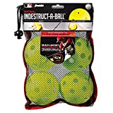 "Franklin Sports MLB Indestruct-A-Ball Softballs (4 Pack), 12.0"", Optic Yellow"