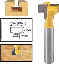 HOHXEN menuiserie Fraise Router Bit Set 1//5,1/cm Tige Couronne Section Panneau de porte et tiroir Moulure Router Bit Set