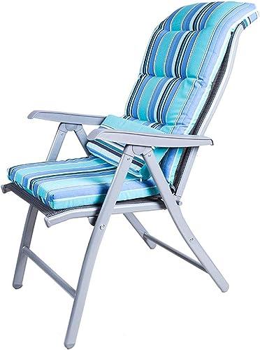 ZXWDIAN Chaise Longue Chaise de Bureau Chaise d'ordinateur Chaise de conférence Maison Ergonomique Chaise Pause déjeuner Sieste Chaise Pliante réglable chaises Pliantes