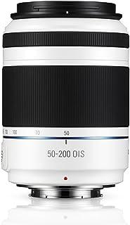 Samsung NX 50-200mm f/4.0-5.6 OIS Zoom Camera Lens (White)