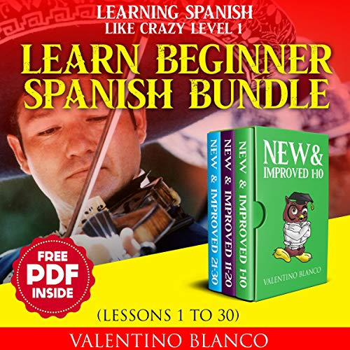 Learning Spanish Like Crazy Level 1 - New & Improved Version Titelbild