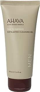 AHAVA Men's Exfoliating Cleansing Gel 100ml, 3.4 Fl Oz
