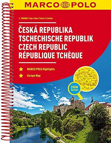 MARCO POLO ReiseAtlas Tschechische Republik 1:200 000: Europa 1:4 500 000 (MARCO POLO Reiseatlanten)