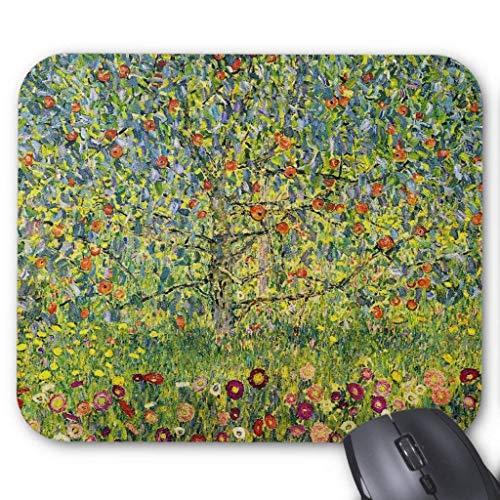 Muismat, Gaming Mouse Pad Grote Grootte 300x250x3mm Dikke Gustav Klimt Schilderij Art Nouveau de Apple Boom Verlengde Muis Pad Antislip Rubber