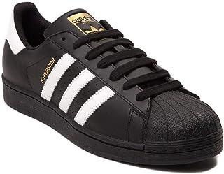 (アディダス) adidas 靴・シューズ レディーススニーカー Womens adidas Superstar Athletic Shoe Black/White ブラック/ホワイト US 8 (25cm)