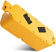 High-Capacity Battery for Irobot-Roomba 400 405 410 415 416 418 4000 4100 4105 4110 4130 4150 4170 4188 4210 4220 4225 4230 4232 4260 4296 400-Discovery-Create Dirt-Dog-Schedular