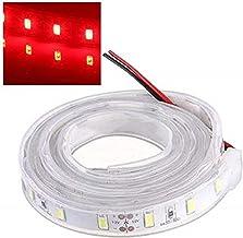 MASUNN 1M 5630 SMD LEIDENE Siliconenstrook Licht Rood licht Waterdicht 12V