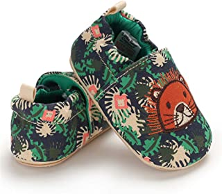 COSANKIM Baby Toddler Boys Girls Slipper Soft Sole Non Skid Infant Slip On Sneaker First Walker Cirb House Shoes