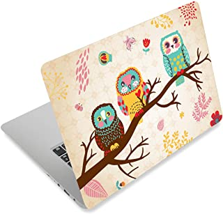Three Owls Fashion Netbook Laptop Skin Sticker Reusable Protector Cover Case for 11.6 12.1 13 13.3 14 15 15.4 15.6 Inch Ap...