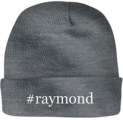 Shirt Me Up #Raymond - A Nice Hashtag Beanie Cap, Grey, OSFA