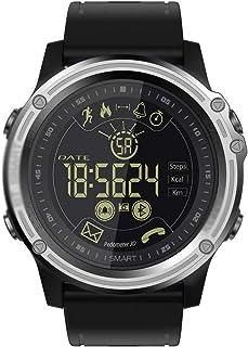 Gymqian el Reloj de Manera Inteligente Mk26 Deporte, Ip68 a Prueba de Agua con Recordatorio de Monitor de Ritmo Cardíaco Podómetros Mensaje Bluetooth Smartwatch, por Ios Android regalo d