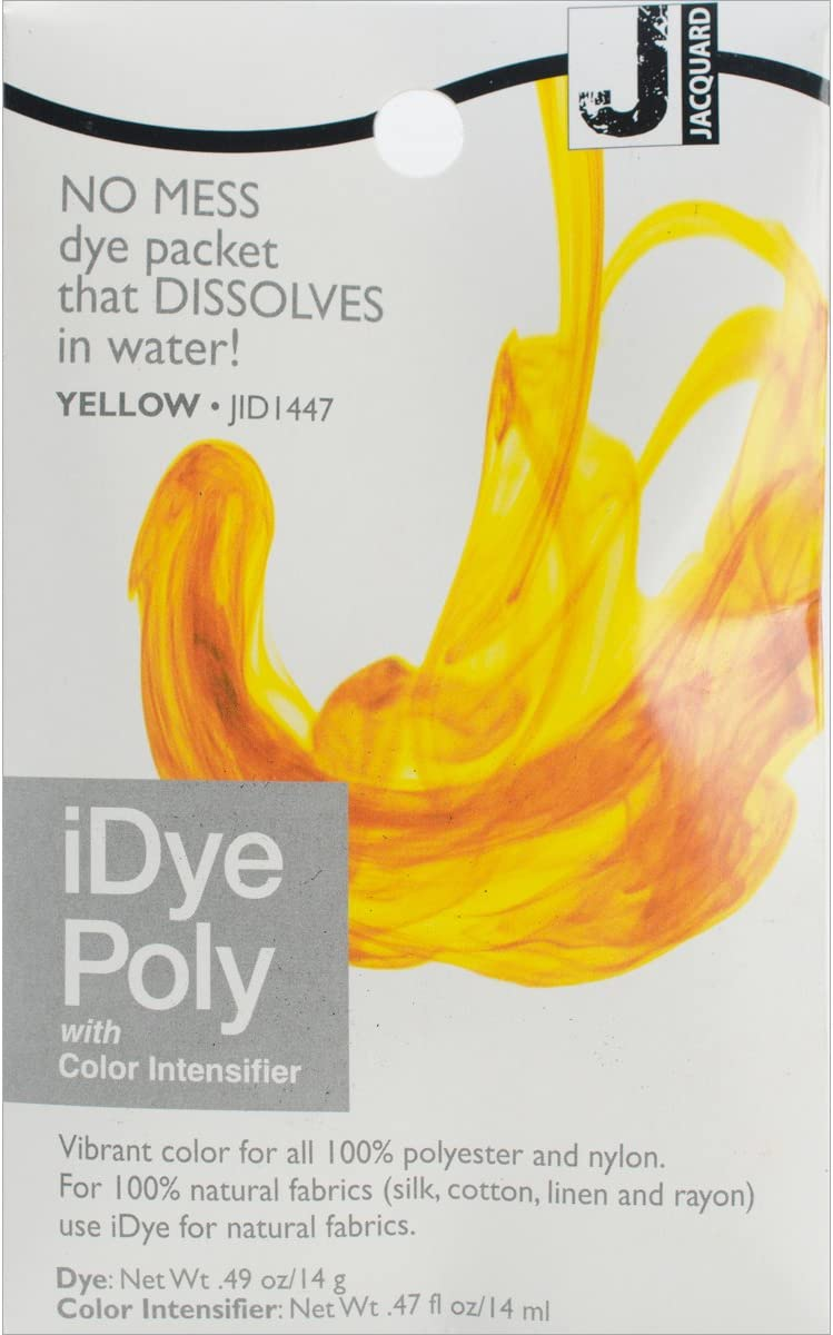 Cash special price Jacquard iDye Poly Fabric Free shipping on posting reviews Dye 14g-Yellow