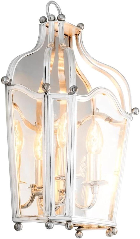Casa Padrino Messing Wandleuchte Silber 31,5 X X H. Cm   Luxus Wohnzimmer  Wandlampe B074SDKZXM | Lebhaft Und Liebenswert 15 47 Nssnmp2847 Werkzeug U0026  ...