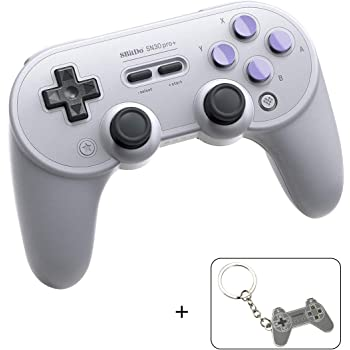 Sn30 Pro Plus Wireless Controller for Nintendo Switch, Bluetooth Controller Joystick with Turbo Vibration Gamepads for Steam, MacOS, PC, Android & Raspberry Pi (Sn Edition)