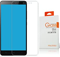 Nacodex Glass for Xiaomi Redmi Note 3 / Xiaomi Redmi Note 3 Pro Tempered Glass Screen Protector Film - [0.33mm 9H Hardness] (for Xiaomi Redmi Note 3)