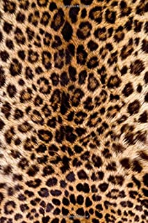 Journal Leopard Print Photo Faux Texture: (Notebook, Diary, Blank Book) (Photo Designs Patterns Journals Notebooks Diaries)