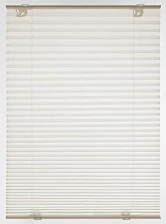 Gardinia Solo-Estor Plisado con ventosas, Enrollable Opaco, Todas Las Piezas de Montaje, 2 rieles de Aluminio, Color Crema, 90 x 130 cm (Ancho x Alto), Beige