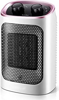 SYR&FJ Calefactor PTC Elemento De Cerámica Oscilación Automática Y 3 Ajustes De Calor 1500W