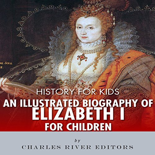 Biography Book Covers: History For Kids: An Illustrated Biography Of Queen