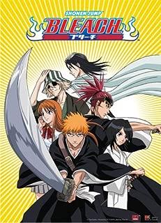 Great Eastern Entertainment Bleach Ichigo Team with Byakuya and Rengi Wall Scroll, 33 by 44-Inch