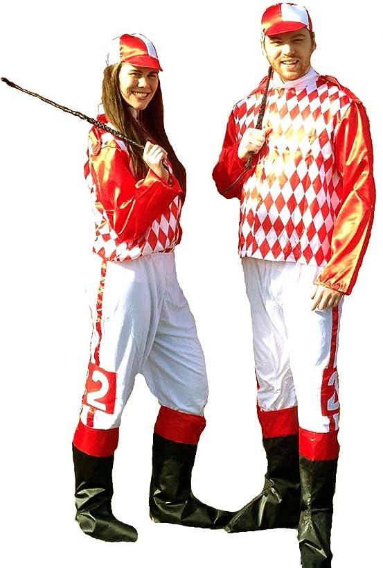 Jockey Costume Adult Std