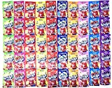 Kool-Aid Drink Mix Packets Variety Pack of 10 Flavors (5 of each flavor, Total of 50)