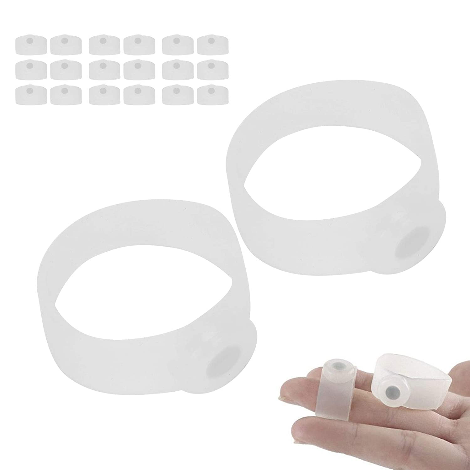 Magnetic Toe Transparent White Slimming Silicone Quantity limited f Home sold out for