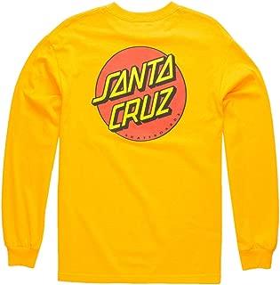 Men's Classic Dot L/S Shirts,Large,Gold