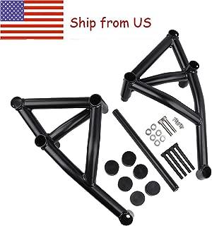 Ship from US!!! XX eCommerce Motorcycle Motorbike Black Stunt Cage Engine Guard Crash bar for Yamaha MT09 FZ09 MT FZ 09 Tracer