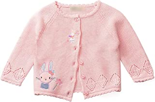 Baby Sweater Princess Girls Cartoon Prints Cardigan Sweater Toddler Knit Coats Toddler Outerwear Spring Autumn