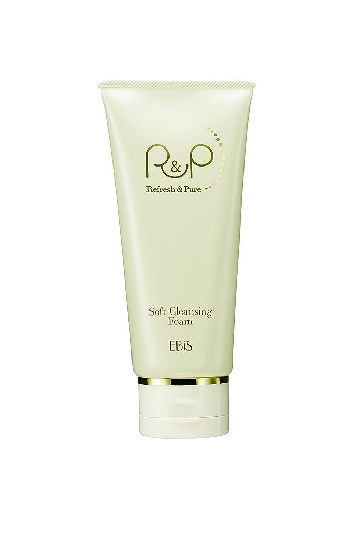 馬鹿蓋再現するエビス化粧品(EBiS) R&Pソフトクレンジングフォーム100g 泥洗顔 洗顔フォーム 高級クレイ使用 ノンアルコール