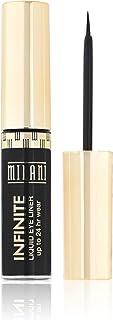 Milani Infinite Liquid Eyeliner, Everlast, 0.17 Fluid Ounce