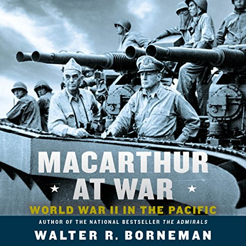 MacArthur at War audiobook cover art