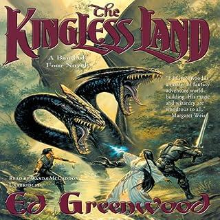 The Kingless Land audiobook cover art
