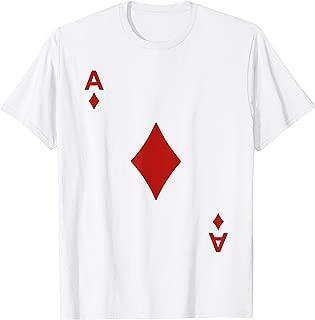 Ace of Diamond Tshirt Blackjack Cards Poker 21 A Tee shirt