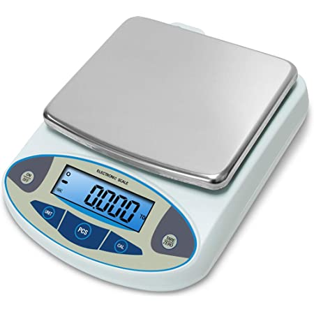 Wisamic 0 01g High Precision Digital Laboratory Scales 5000g Electronic Kitchen Scales Jewelry Scales Professional Scales With Backlit Lcd Display Tare Pc Factions Portable Scale Amazon De Business Industry Science