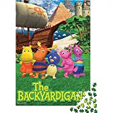 CELLYONE Puzzle per Adulti 1000 Pezzi The Backyardigans TV Show Poster 1000 Puzzle per Adulti Giocattoli per l'intrattenimento Domestico Fai-da-Te per Adolescenti 75x50CM(1000pcs)