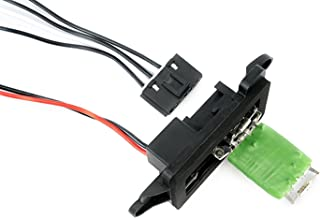 AC Blower Motor Resistor Kit with Harness - Replaces 89019088, 973-405, 15-81086, 22807123 Fits Chevy Silverado, Tahoe, Suburban, Avalanche, GMC Sierra, Yukon, Cadillac Escalade HVAC Fan Blower Motor