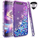 LeYi Case for Huawei P10 with Glass Screen Protector [2
